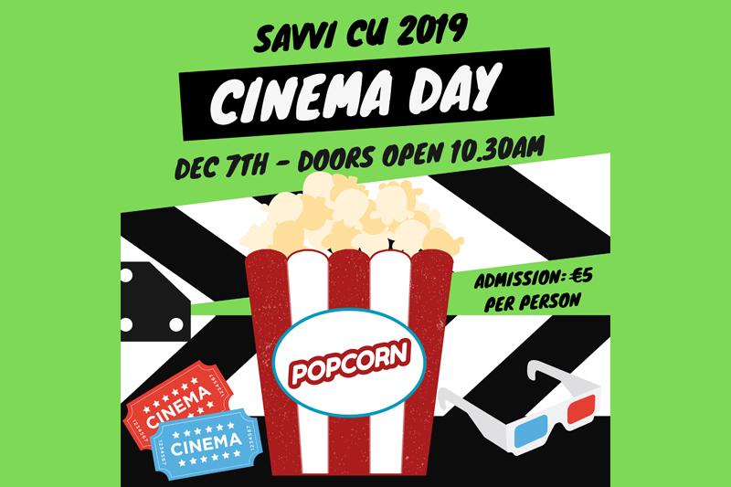 Savvi Credit Union Cinema Day 2019